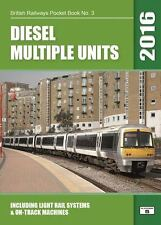 BR Pocket Book No 3 Diesel Multiple Units 2016 Edition - NEW PB Railway Book