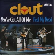 """7"""" Clout You`ve Got All f Me / Feel My Need 70`s Carrere 2044 131"""