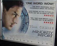 Cinema Poster: MINORITY REPORT 2002 (Review Quad) Tom Cruise Max von Sydow
