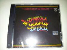 cd musica jazz di meola mclaughlin de lucia friday night in san francisco