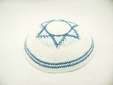 Beautiful Cheep Yamaka Kipot Shabbat Yarmulke Kippah Jewish Cheap Hat Jew Blue