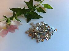 105 Preciosa Loch Rose Flatback Rhinestone Sew On Crystal  AB CRAFT Post Free