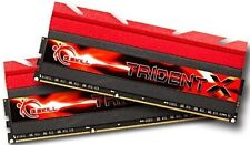 G.Skill TridentX 16GB 2X8GB Dual Channel DDR3 2400MHz PC3-19200 DIMM Desktop