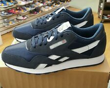 Reebok Classic Nylon 39749 Navy/Platinum MEN US SZ 11