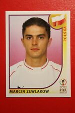PANINI KOREA JAPAN 2002 # 275 POLSKA ZEWLAKOW WITH BLACK BACK MINT!!!