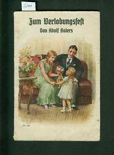 Zum Verlobungsfest Gedichte Glückwünsche Vorträge A. Aalers 1939 Trinksprüche