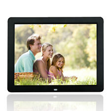"Wonderful 15"" Black Digital Frame Photos LED HD Screen 1080*800 MP3 MP4 Pla"