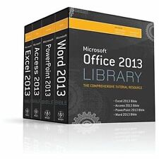 Office 2013 Library Excel 2013 Bible, Access 2013 Bible, PowerPoint 2013 Bible,…