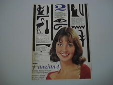 advertising Pubblicità 1961 FAUZIAN'S