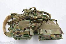 70282 Tactical Dog Molle Vest harness&Detachable Pouches +Training Leash Size M