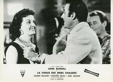 SEXY JANE RUSSELL UNDERWATER ! 1955 VINTAGE PHOTO ORIGINAL FRENCH LOBBY CARD #10