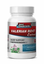 Valeriana Plant - Valerian Root Extract 4:1 125mg - Natural Muscle Relaxer 1B