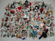 Job lot  Vintage  Keychains Key rings from  the sixties  1,8 kg.