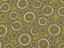 Green & White Concentric Circles by Hobby Lobby BTY