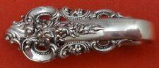 Grande Baroque by Wallace Sterling Silver Napkin Clip Original