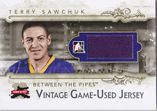 11-12 ITG Terry Sawchuk /9 Vintage Jersey Between The Pipes 2011 LA Kings