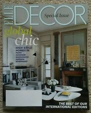 NEW MINT ELLE DECOR MAGAZINE Jan Feb 2014 The Best of Our International Editions