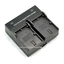 LP-E6 Dual Double Battery Charger for Canon LPE6 EOS 70D 60D 7D 6D 5D II 5D III