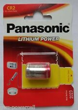 4 x Panasonic cr2 CrCr 2-2a dl2a Lithium photo 3 voltios blister nuevo & OVP