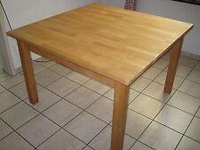 Tisch Buche massiv, geölt, 1,20 m x 1,20 m, Höhe: 78 cm