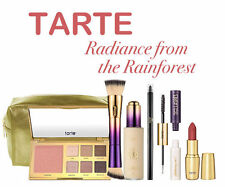 TARTE Radiance from the Rainforest Collection Foundation Palette Brush Blush Set