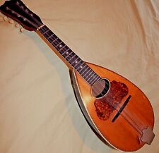 Antique Washburn Bowl Back Mandolin Venetian Style 21 Serial  #219282 Unrestored