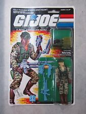 G.I. Joe A Real American Hero ~ Recoil Long Range Recon Patrol Figure ~ 1988