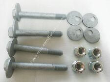 OEM Front Lower Arm Camber adjust Bolt 125mm 2PC 116mm 2PC & Cam 4PC & Nut 4PC