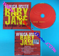 CD Singolo AFRICA UNITE Baby Jane 5002 644 PROMO CARDSLEEVE no mc lp vhs(S28)