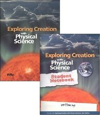Apologia Physical Science SET-- Text, Solutions, Tests, and Student Notebook NEW