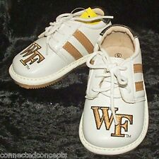 Toddler Boys Team Squeaks by Squeak Me Shoes - Wake Forest (Size 5) NEW!