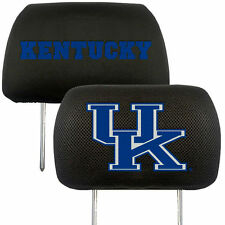 Kentucky Wildcats  2-Pack Auto Car Truck Embroidered Headrest Covers