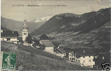73 - cpa - HAUTELUCE - Col du Joly et le Mont Blanc