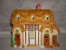Santa's Best Bob Cratchet Home Dickens Of London Village Building 1991 Lighted