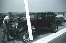 1960s Drag Racing-1934 Chevy Sedan Delivery-The BLOWN HEARSE-B/GS-409-Dick Doyle
