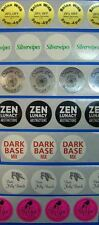 "Printed Round Labels 1"" Diameter 250 Custom Circle Business Stickers 1 ink Color"
