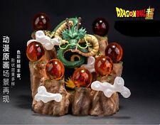 20.5CM Resin Mountain For Goku Shenron Dragonball Crystal 1st -7th Star Display