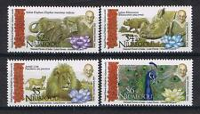 Niuafo'ou - 2016 Gandhi and Animals of India Postage Single Stamps Set