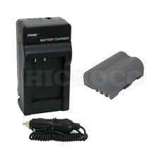Battery+Charger For Nikon EN-EL3e D90 D700 D300 D80 D70 D50 D200 D300s D100 D70s