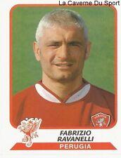 FABRIZIO RAVANELLI ITALIA AC.PERUGIA OM DUNDEE.FC STICKER CALCIATORI 2004 PANINI
