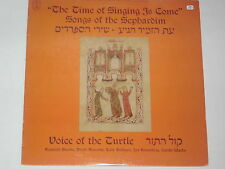 VOICE OF THE TURTLE -Songs Of The Sephardim- LP