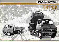 Daihatsu Highly Mobile 2 Ton Tipper original Sales Brochure not dated