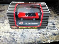 diecast model car 1:87 MODEL POWER MINIS 1964 1/2 FORD MUSTANG RED