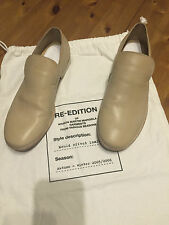 Maison MARTIN MARGIELA Chaussures Basses Mocassins Cuir Leather EUR taille 40/us 7