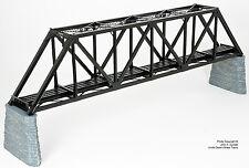 BRASS SHUNANDA 1016-1 WARREN 165ft THROUGH TRUSS BRIDGE 1 TRACK F/P BLACK