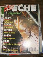 Pêche magazine N°35 Truite Perche à la mouche Saumon Mouche les émergentes
