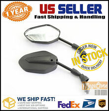 Suzuki DRZ 70 110 125 250 400 GT 125 185 250 380 500 550 750 Bike Mirrors BLACK