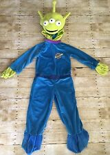 DISNEY STORE TOY STORY MOVIE ALIEN PLUSH VELOUR HALLOWEEN COSTUME  BOYS S  5  6