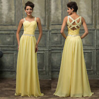 Designer Formal Long Ball Gown Party Prom Bridesmaid Evening Dress PLUS SIZE