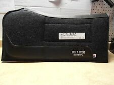 Billy Cook Black Felt Build Up Shoulder Relief Contoured Horse Saddle Pad 32x32""